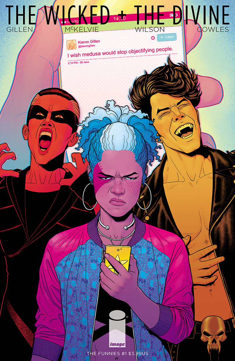 The Wicked + The Divine: The Funnies #1 review: Turns the WicDiv world into comic strips full of love and mockery