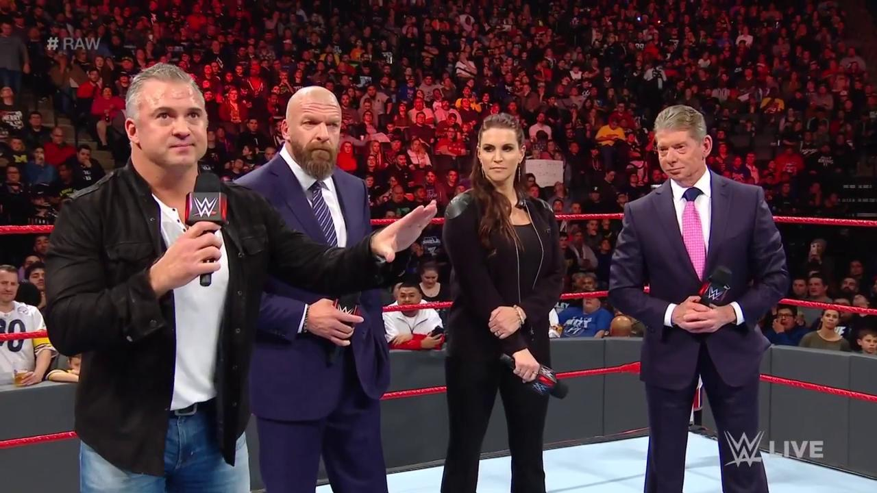 """Vince McMahon starts Raw by apologizing for poor programming and promising a """"fresh start"""""""