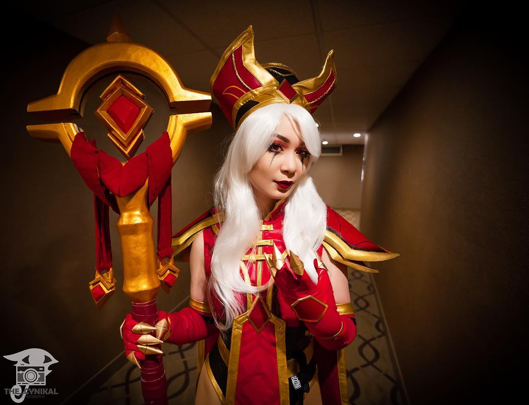 The Janthraxx Blizzard cosplay collection