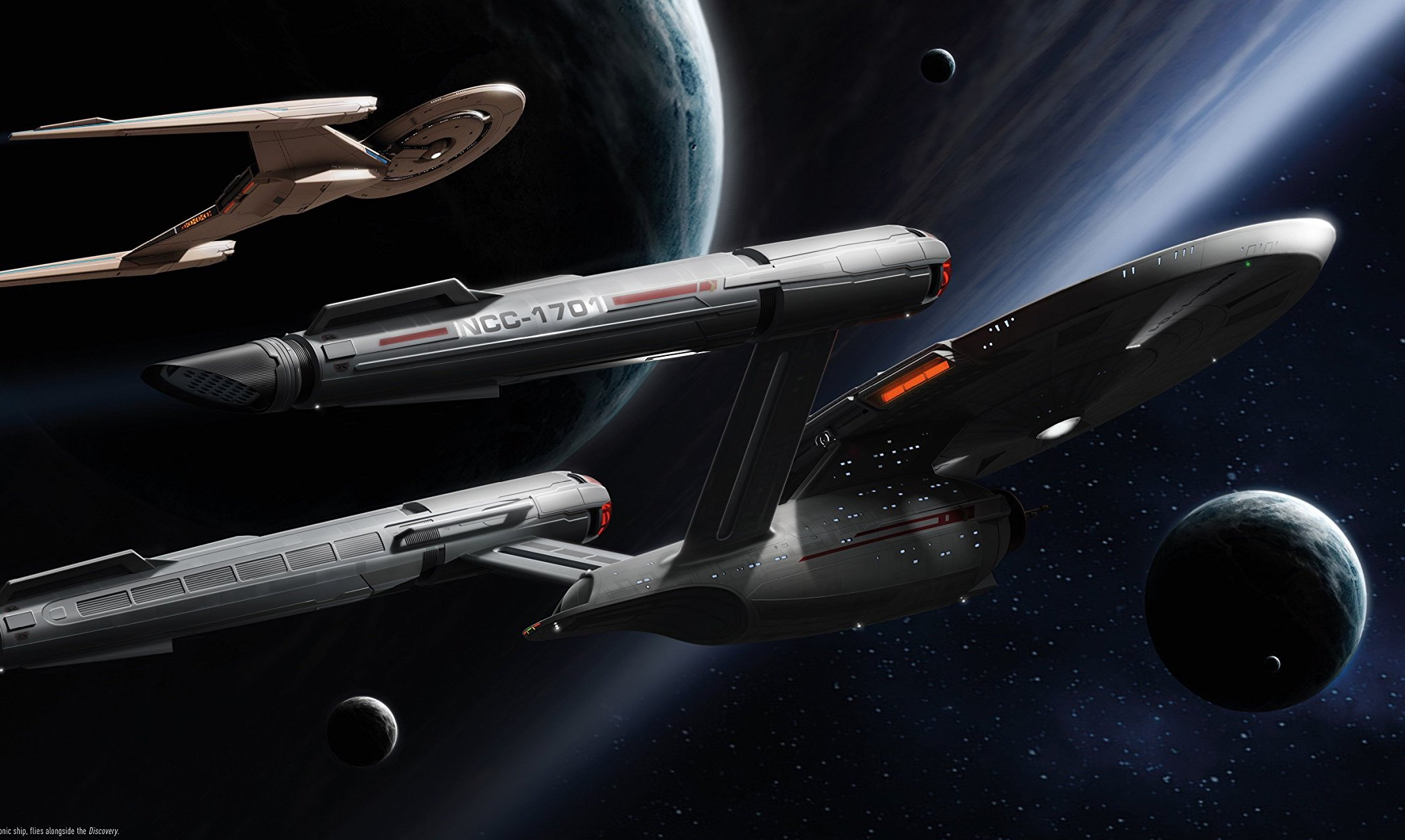 An extensive look at the space ship design from one of the most influential designers in the modern era of 'Star Trek'.