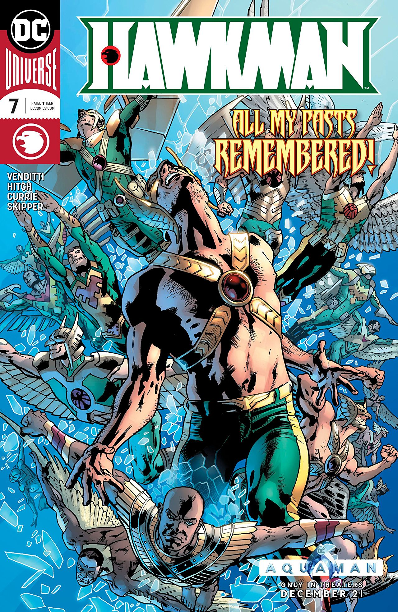 Hawkman #7 review: The First Life of Hawkman