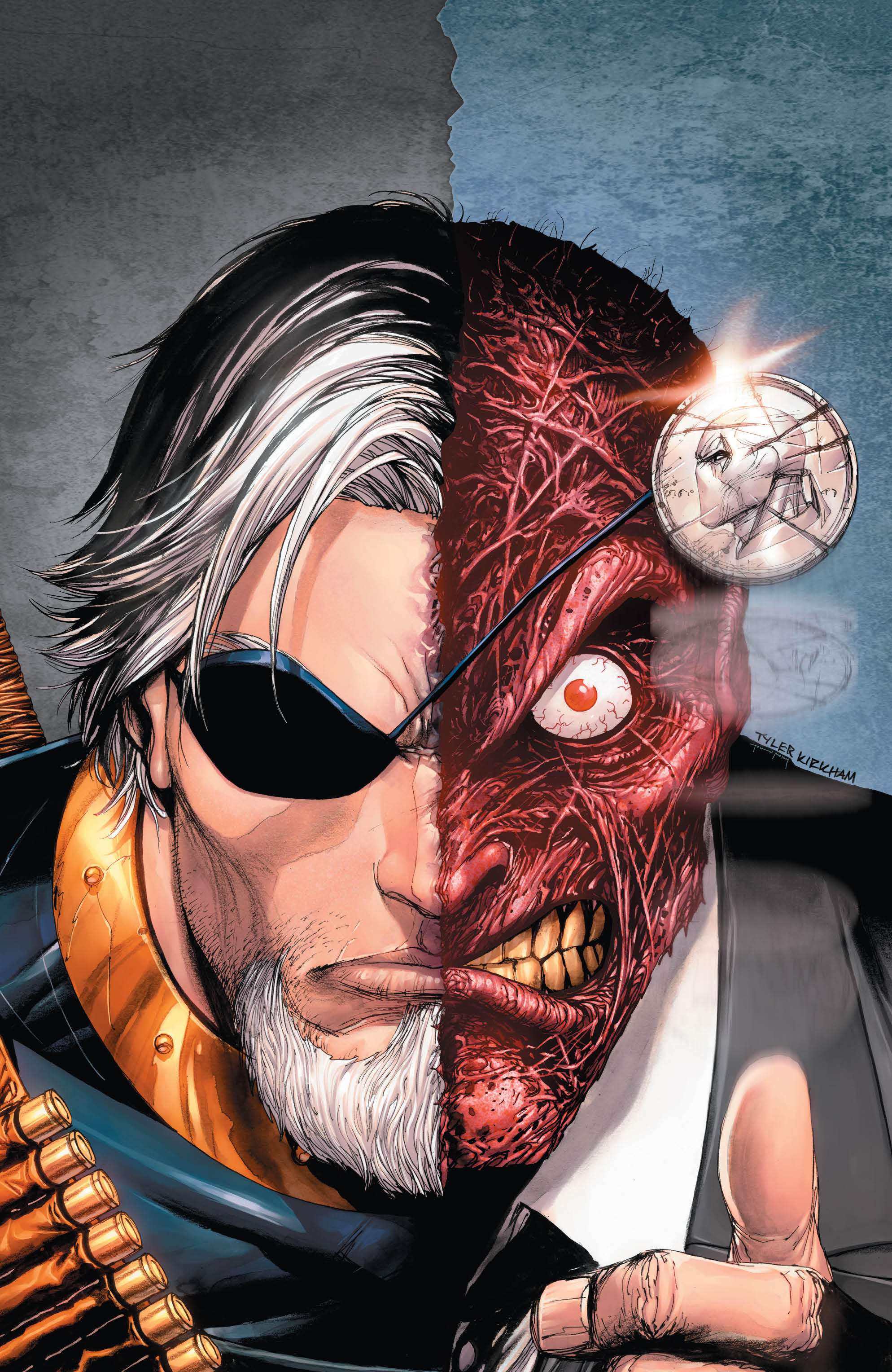 Deathstroke finally meets his match: Arkham Asylum?!