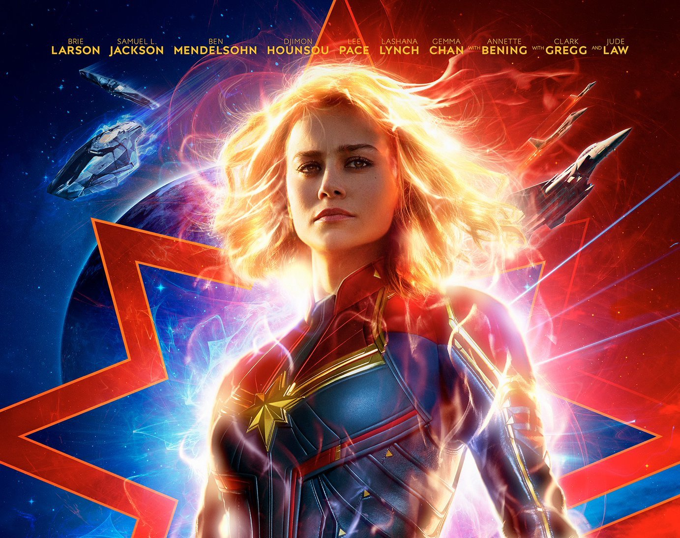 Check out the latest 'Captain Marvel' poster.