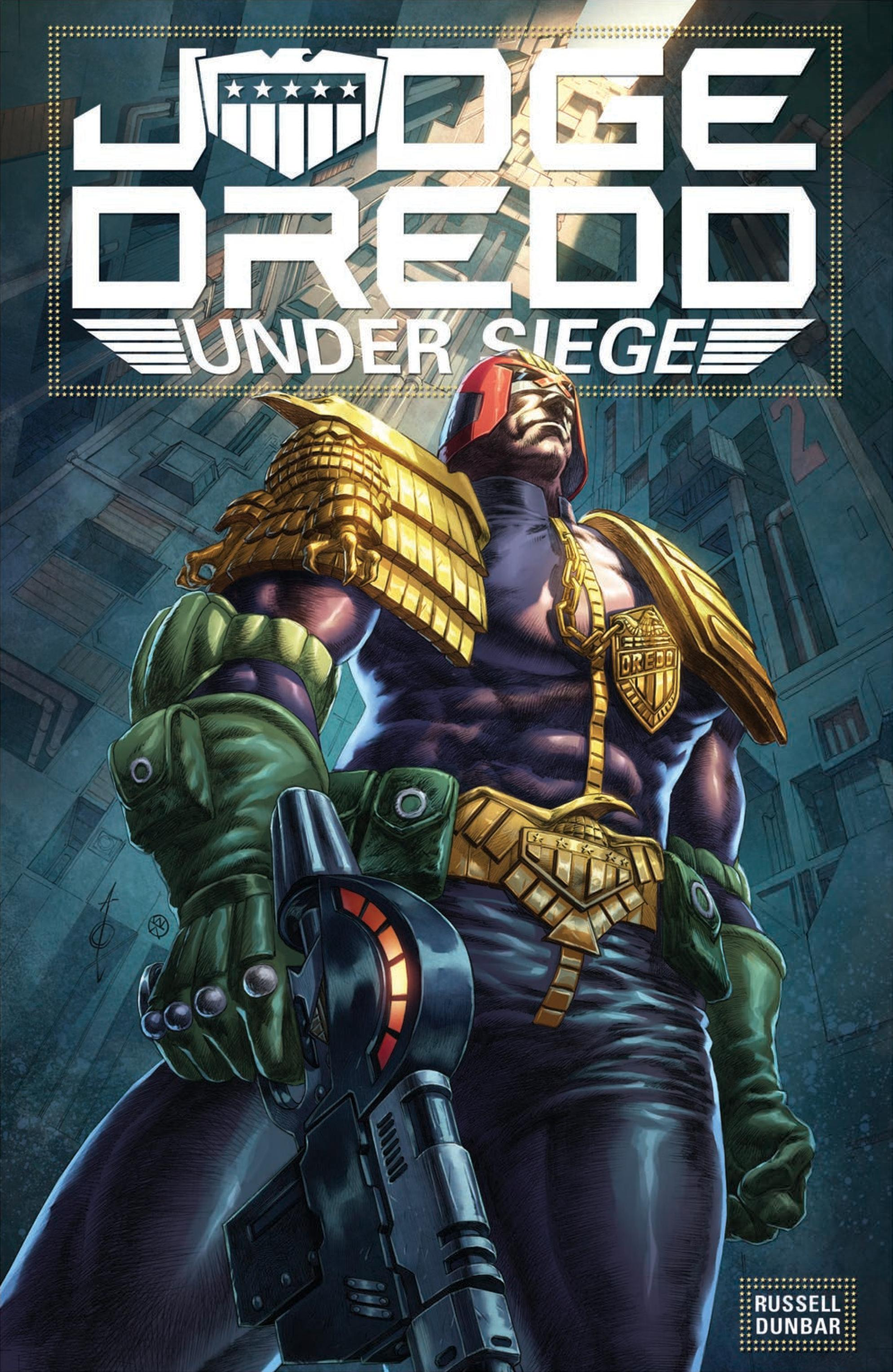 Judge Dredd and Judge Beeny are sent in to investigate a block where they discover a threat to Mega-City One that they must contain at all costs.