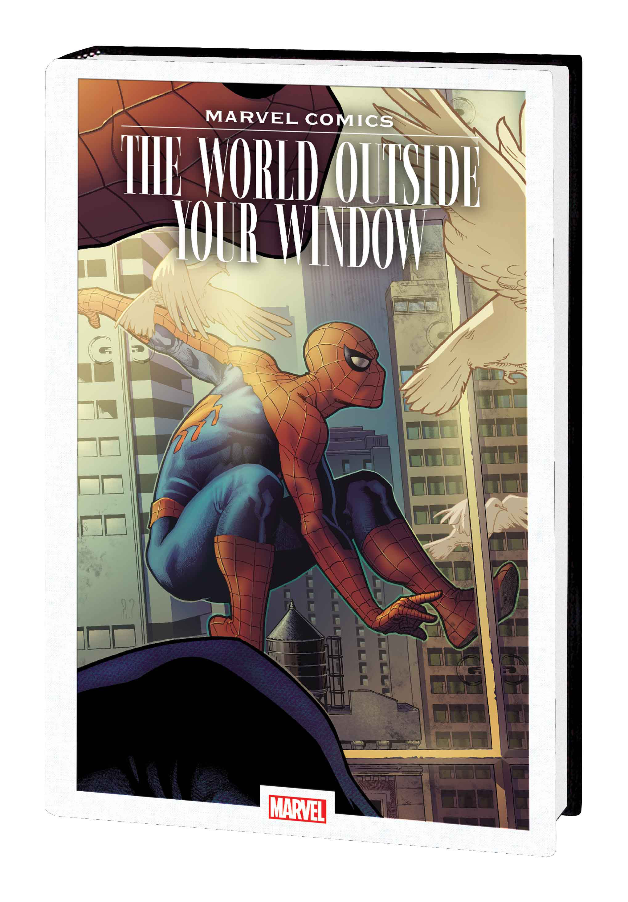 Marvel Comics showcases heroes in 'The World Outside Your Window' hardcover next June