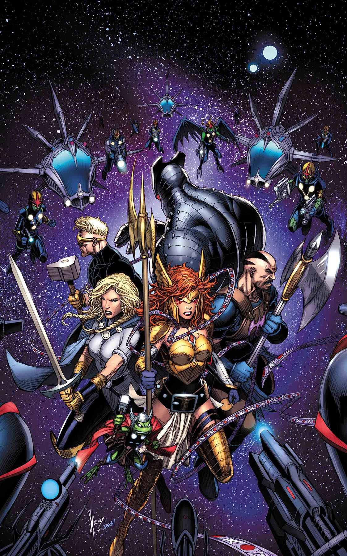 Marvel Preview: Asgardians Of The Galaxy #4