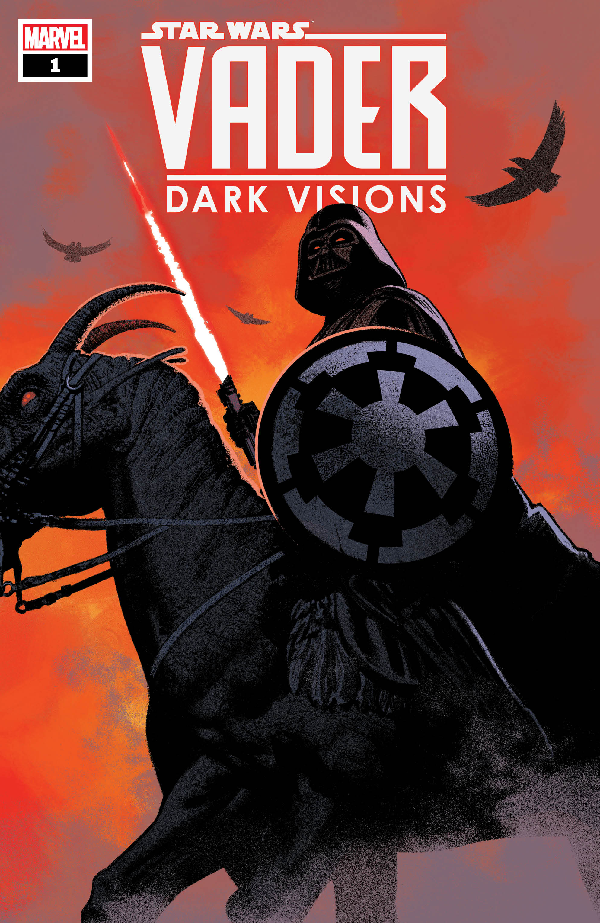 'Star Wars: Vader - Dark Visions' gallops in next March 2019