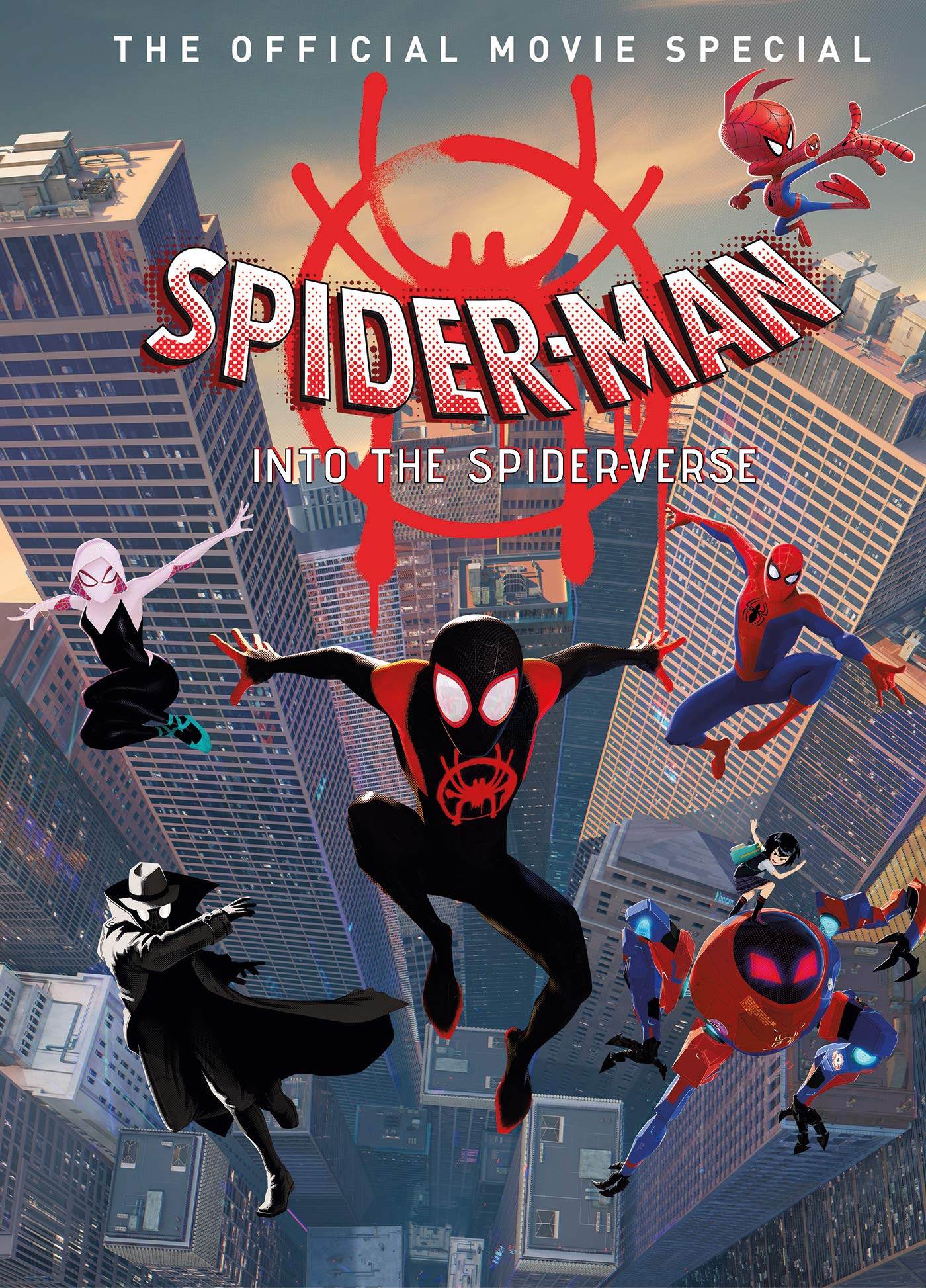 A collector's guide to the new animated movie Spider-Man: Into the Spider-Verse, featuring exclusive content showcasing behind-the-scenes images, art, and much more!