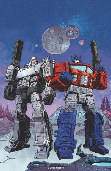 IDW announces new Transformers Relaunch in March 2019