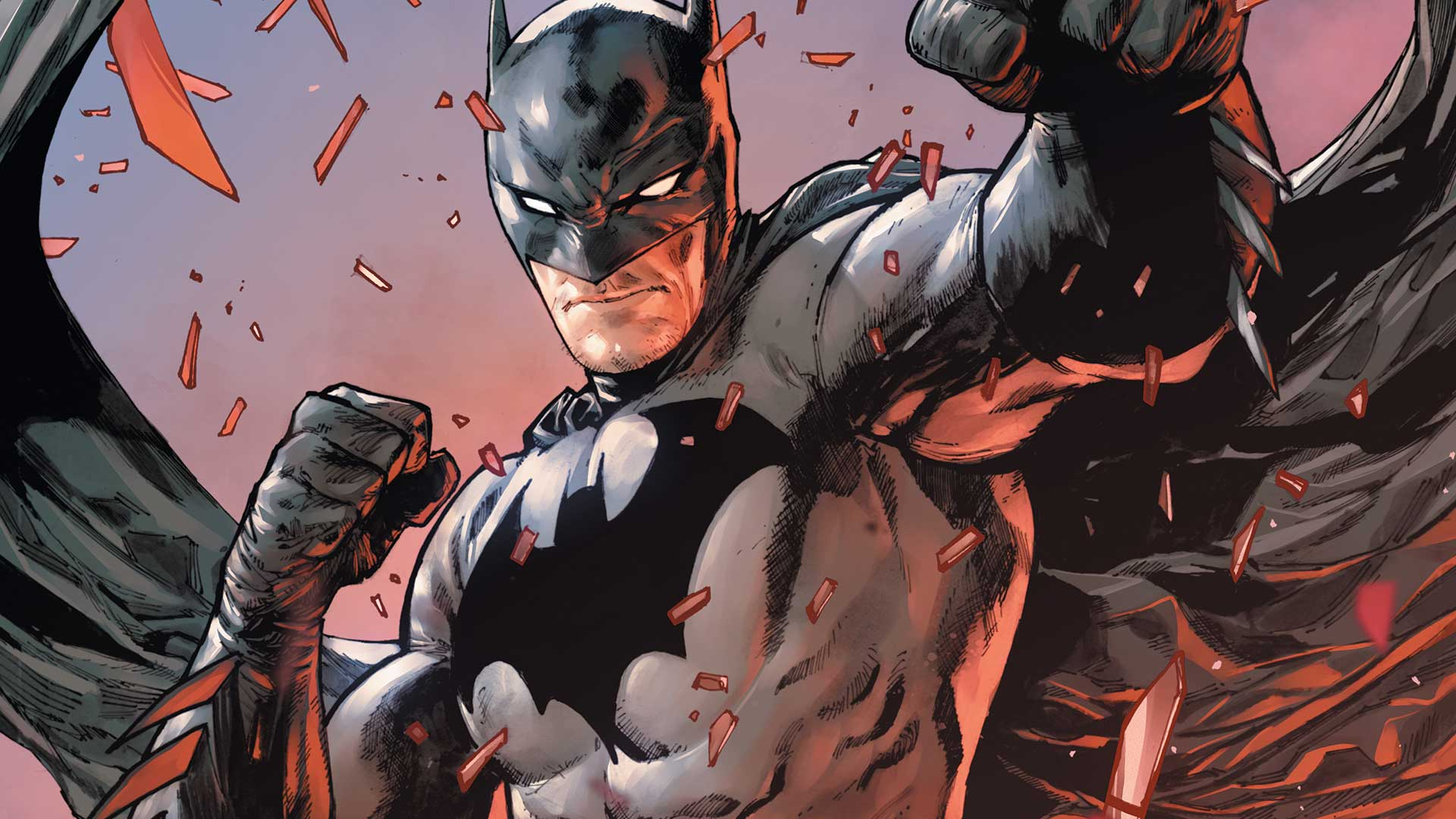 Batman #61 takes the audience for a ride into the dark bowels of madness. Readers unacquainted with the insane young Mathew Warner (Call him Bruce) may not fully understand the issue until its inevitable reveal, but fans that have remained faithful to the title since issue #38 will be aware of the narrative amalgam at hand. Warner arranged his parents' death in a demented recreation of the murder of Thomas and Martha Wayne. The boy who wants to be Bruce Wayne returns in this somewhat ambiguous one-shot with ties to a deeper plot.