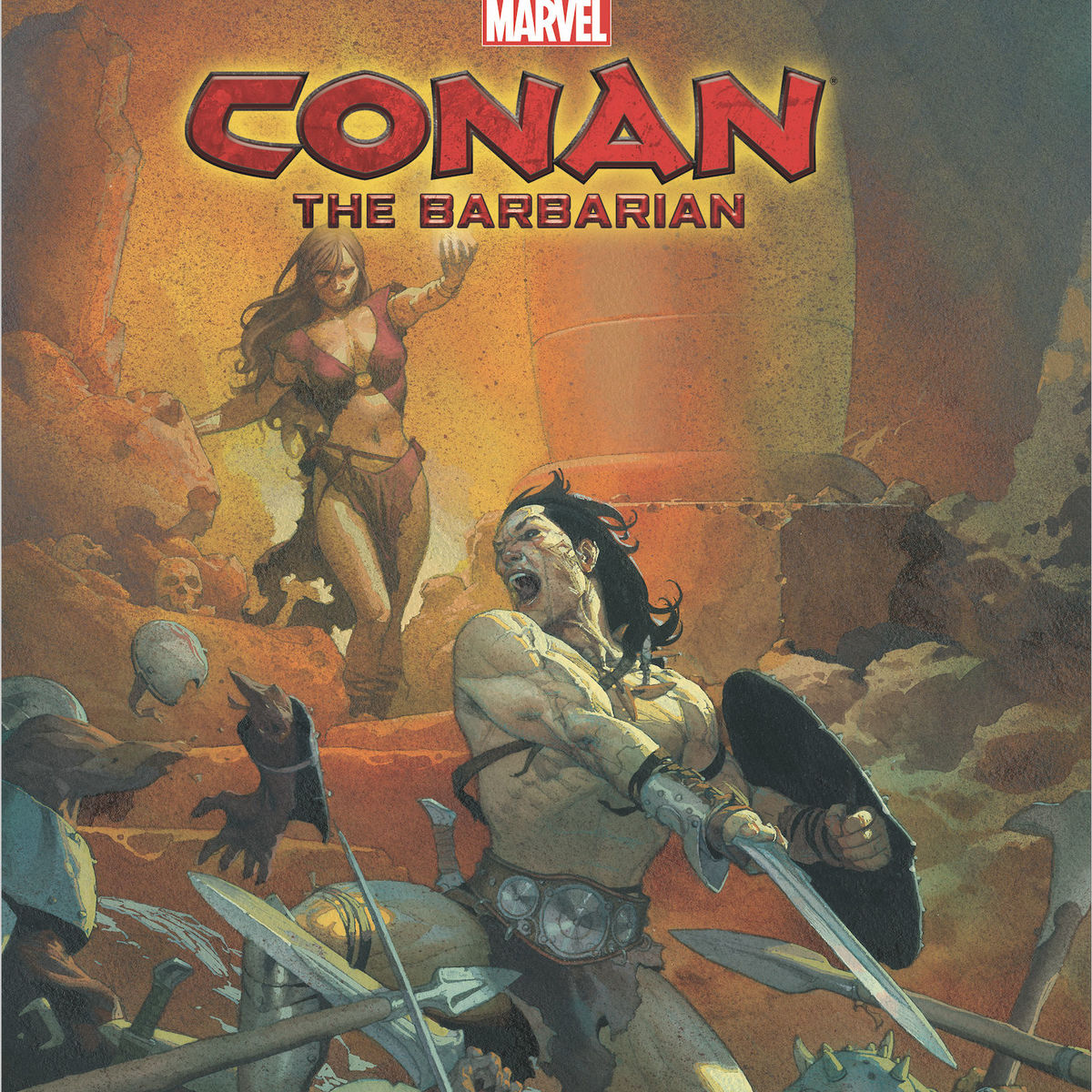 Conan the Barbarian' #1 review: A return to sword, sorcery