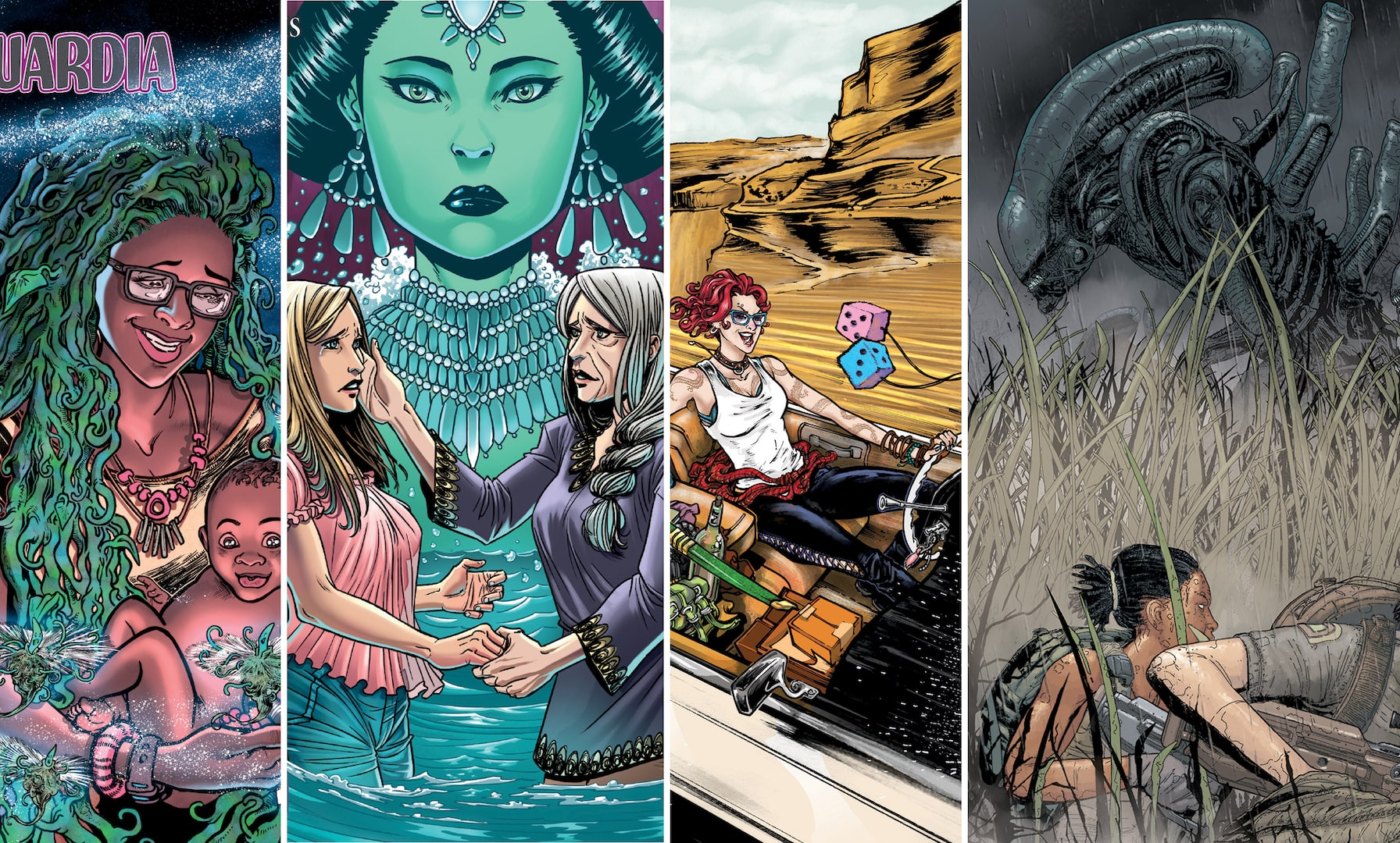 [EXCLUSIVE] Dark Horse March 2019 solicitations: Calamity Kate, Aliens: Resistance, and more!