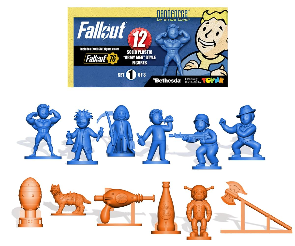 Fallout Nanoforce Series 1 Army Builder Figure Collection Set 1 review