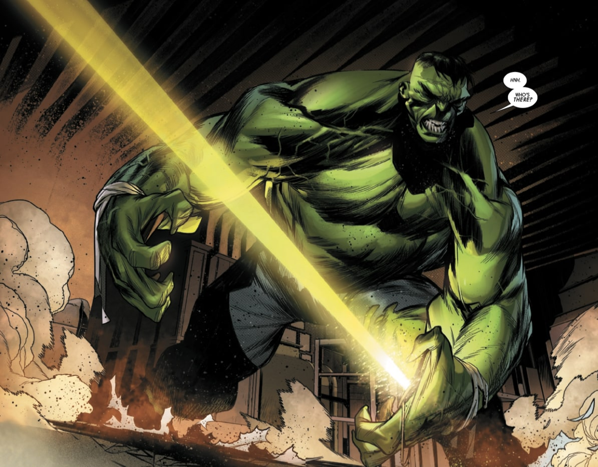Hulk is going to have a lot more control after this issue.