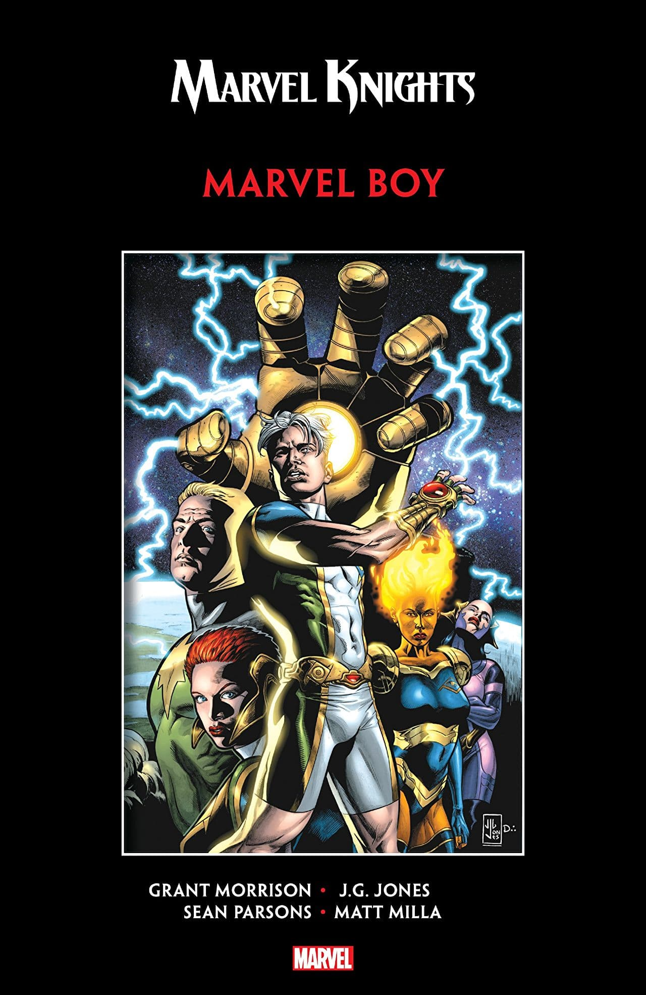 Marvel Knights:  Marvel Boy review -- Half insect, halfhearted