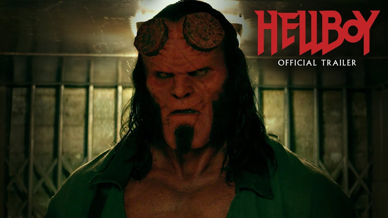 The new 'Hellboy' trailer arrives a day early following leak