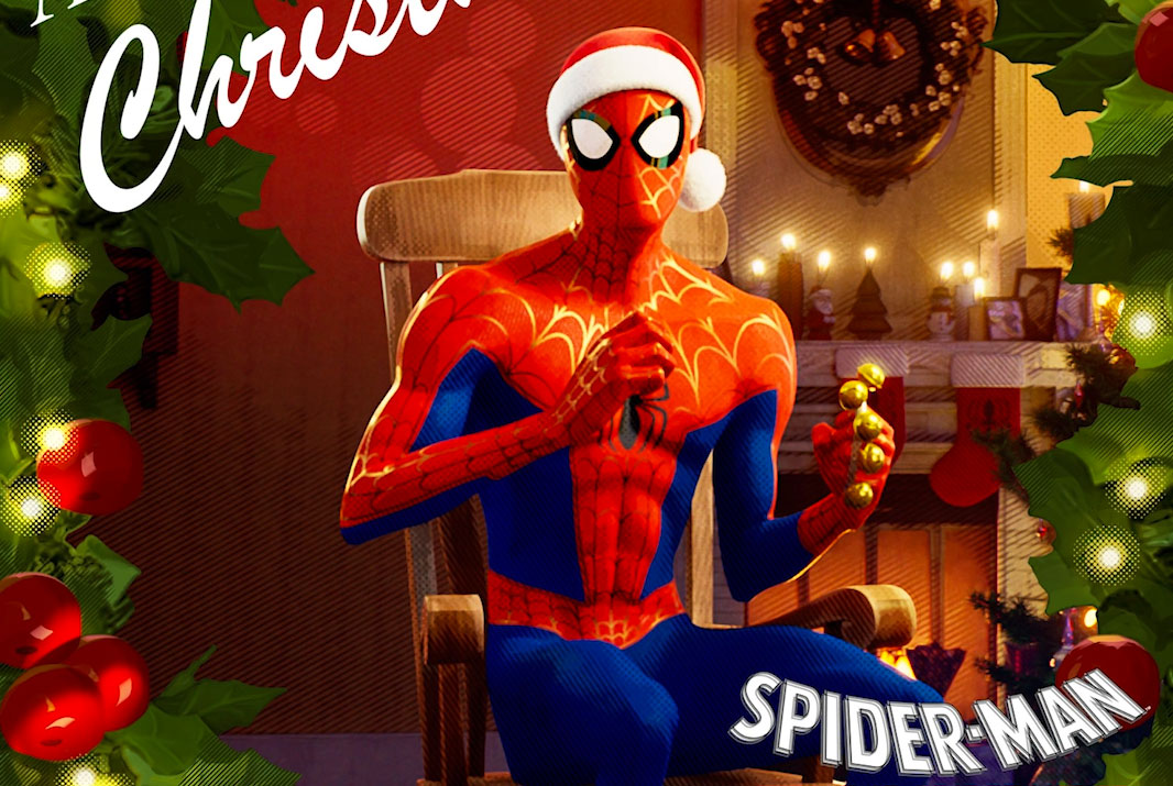 'A Very Spidey Christmas,' the album from 'Into the Spider-Verse,' is real