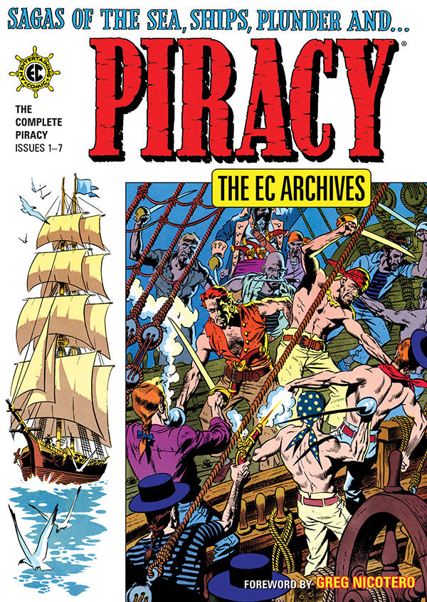 EXCLUSIVE Dark Horse Preview: The EC Archives: Piracy HC
