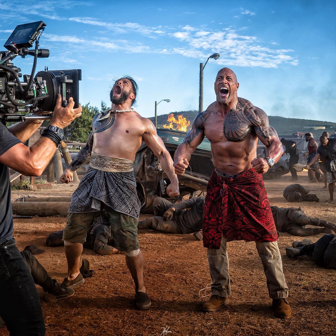 Roman Reigns will play The Rock's brother in a 'Fast and Furious' spin-off, 'Hobbs and Shaw'