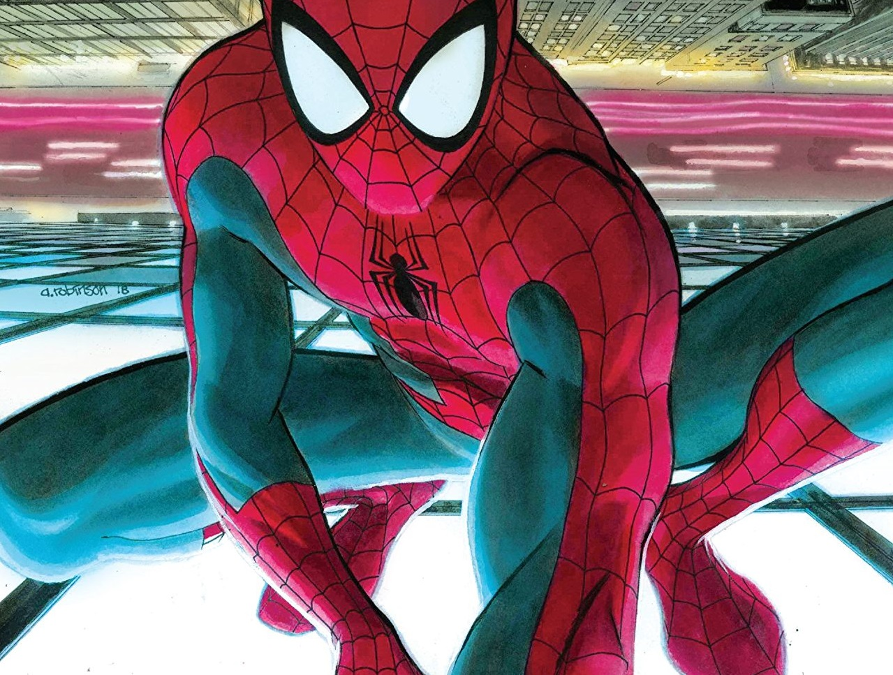 A significant step-up for the new take on the Webslinger.