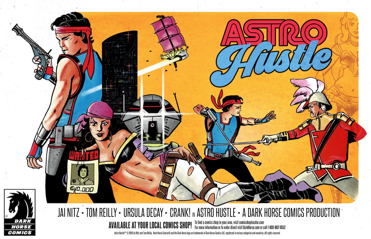 EXCLUSIVE First Look: Dark Horse Comics' Astro Hustle promo art