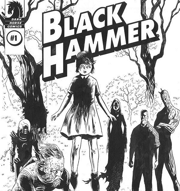 Black Hammer #1 Director's Cut review