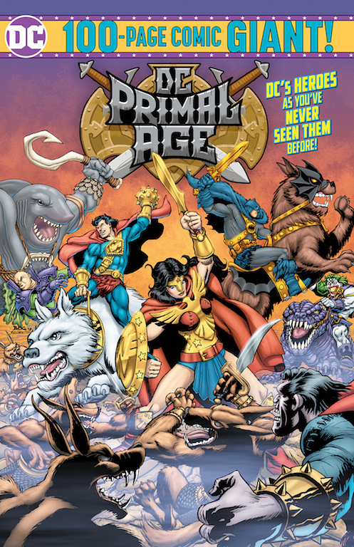 Funko DC Primal Age toy line gets 100 page comic at Target
