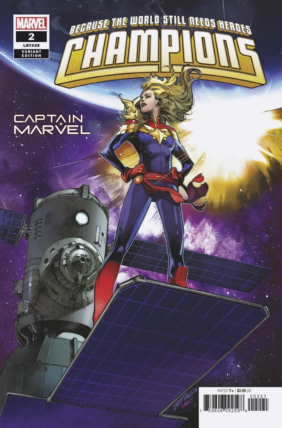 Marvel Preview: Champions #2