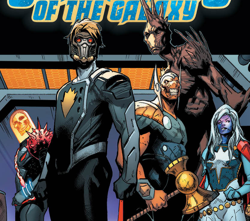 Guardians of the Galaxy #1 goes back for a second printing