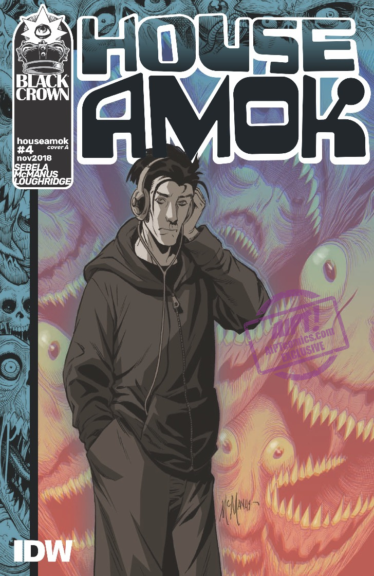[EXCLUSIVE] IDW Preview: House Amok #4