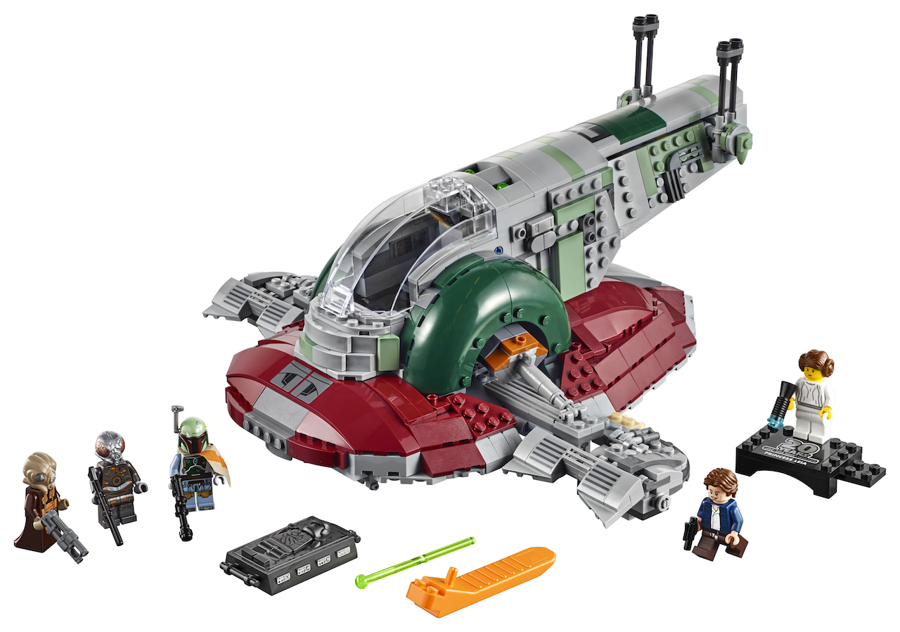 5 iconic Star Wars ships get immortalized as LEGO sets this year
