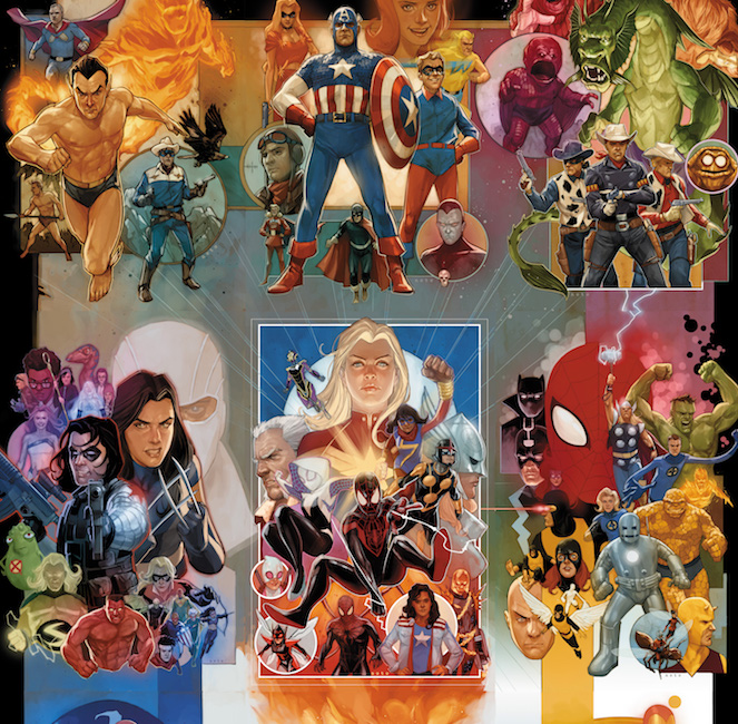 Marvel to celebrate its 80th anniversary all year with specials, tributes, and more