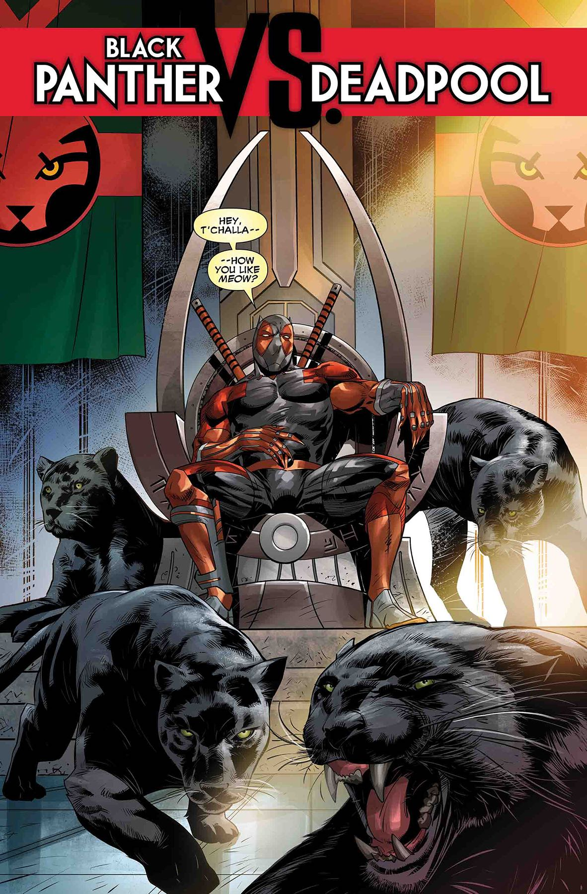 Marvel Preview: Black Panther Vs. Deadpool #4