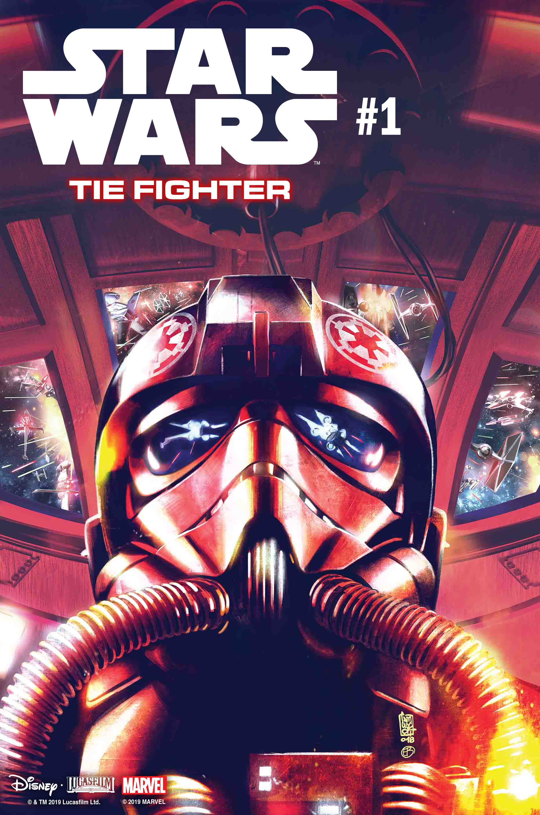 First Look: Marvel reveals Tie Fighter #1 this April
