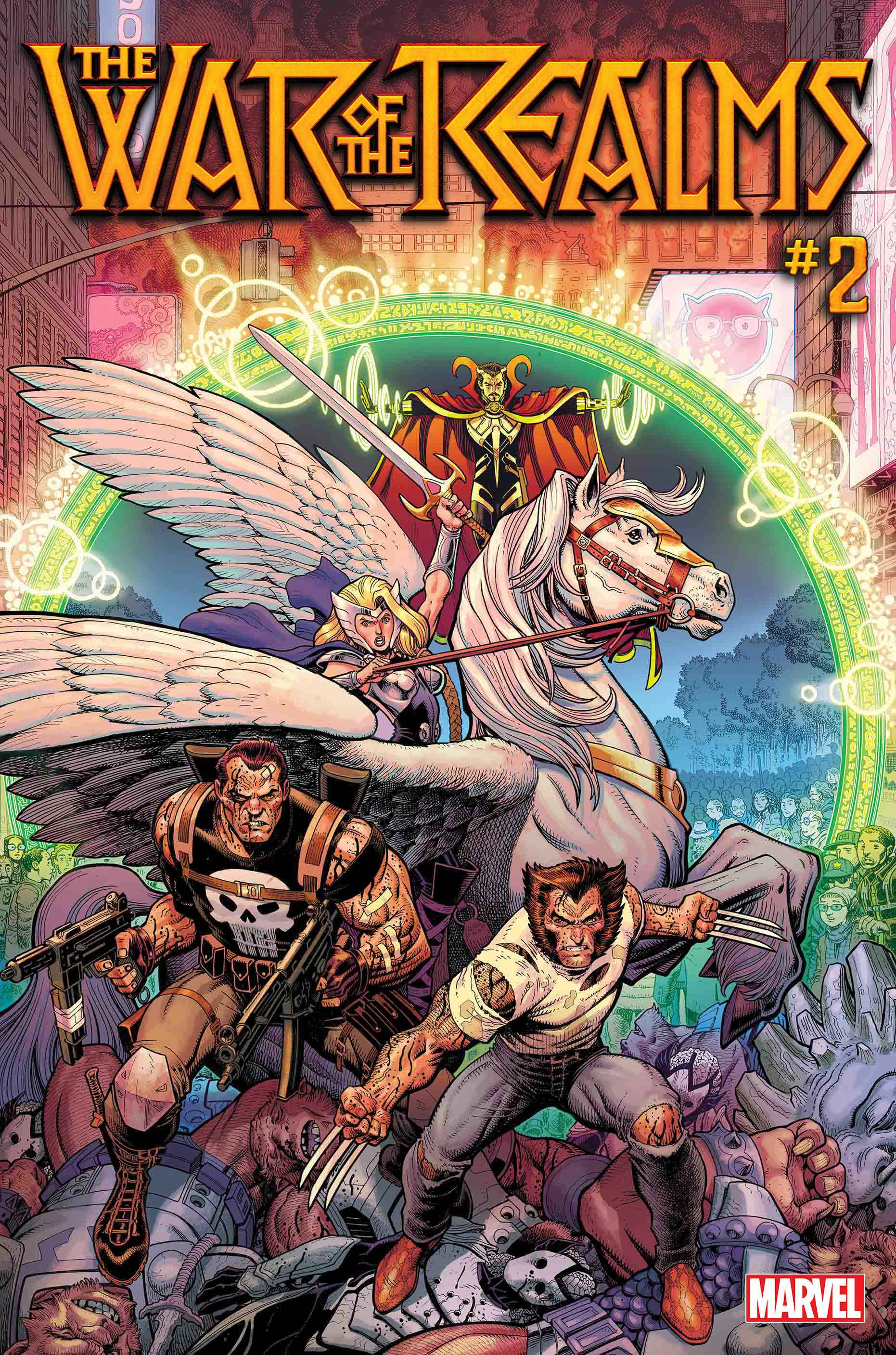 First Look: War of the Realms #1: The World at War