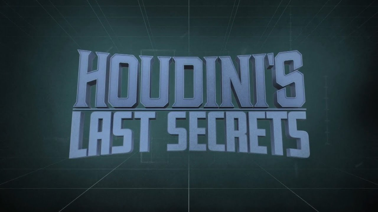Science Channel's 'Houdini's Last Secrets' introduces the team with a splash