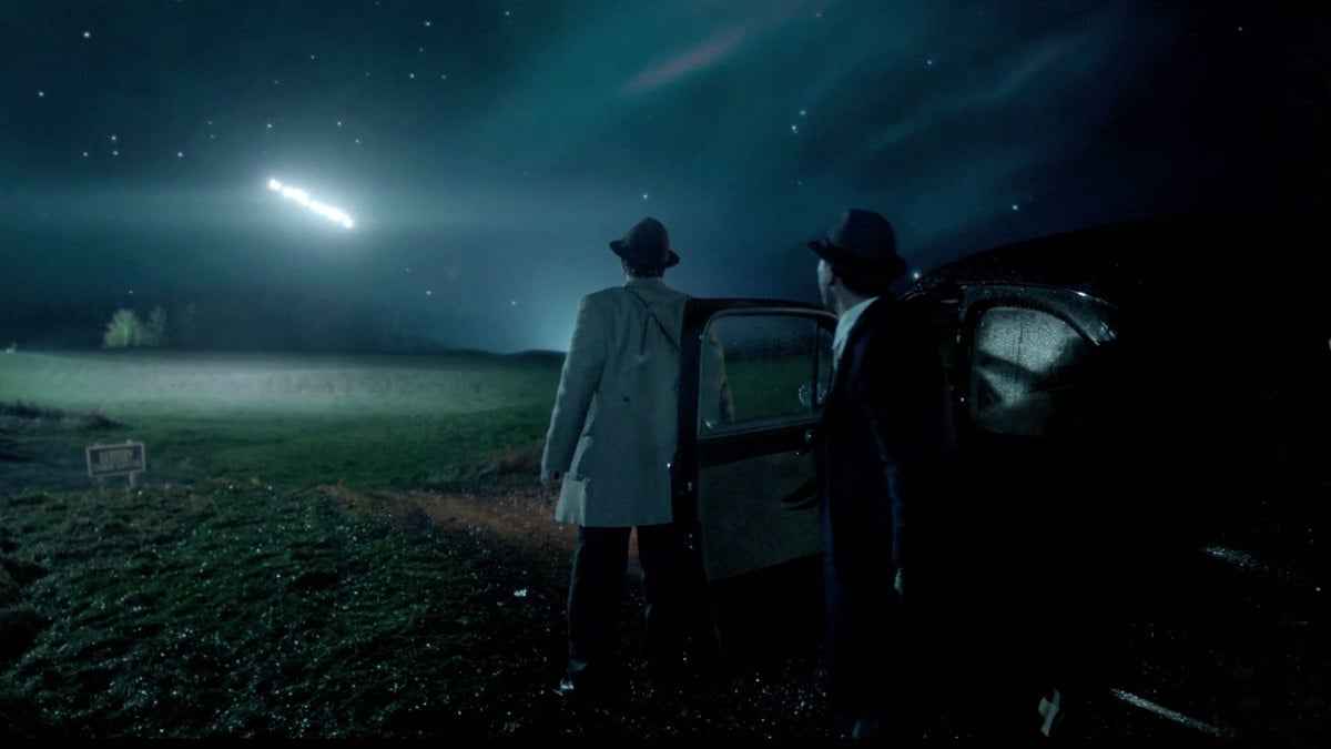 The Lubbock Lights of History Channel's 'Project Blue Book' — how