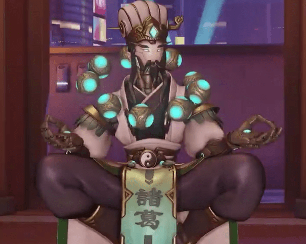 Zenyatta is the fifth hero to receive a new skin for the upcoming Chinese New Year celebration.