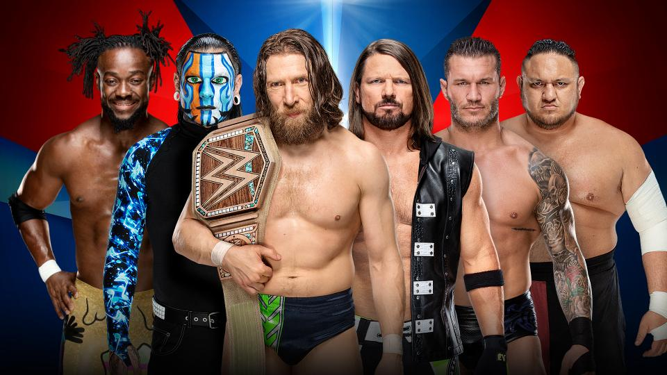 The WWE Championship and brand-new WWE Women's Tag Team Championships are on the line.