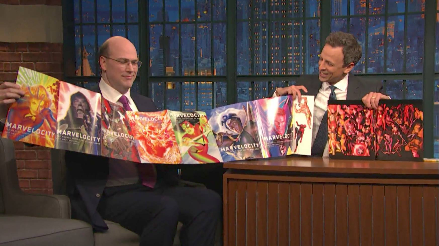 Seth Meyers talks favorite comic and funniest comic on YouTube show Hot Ones