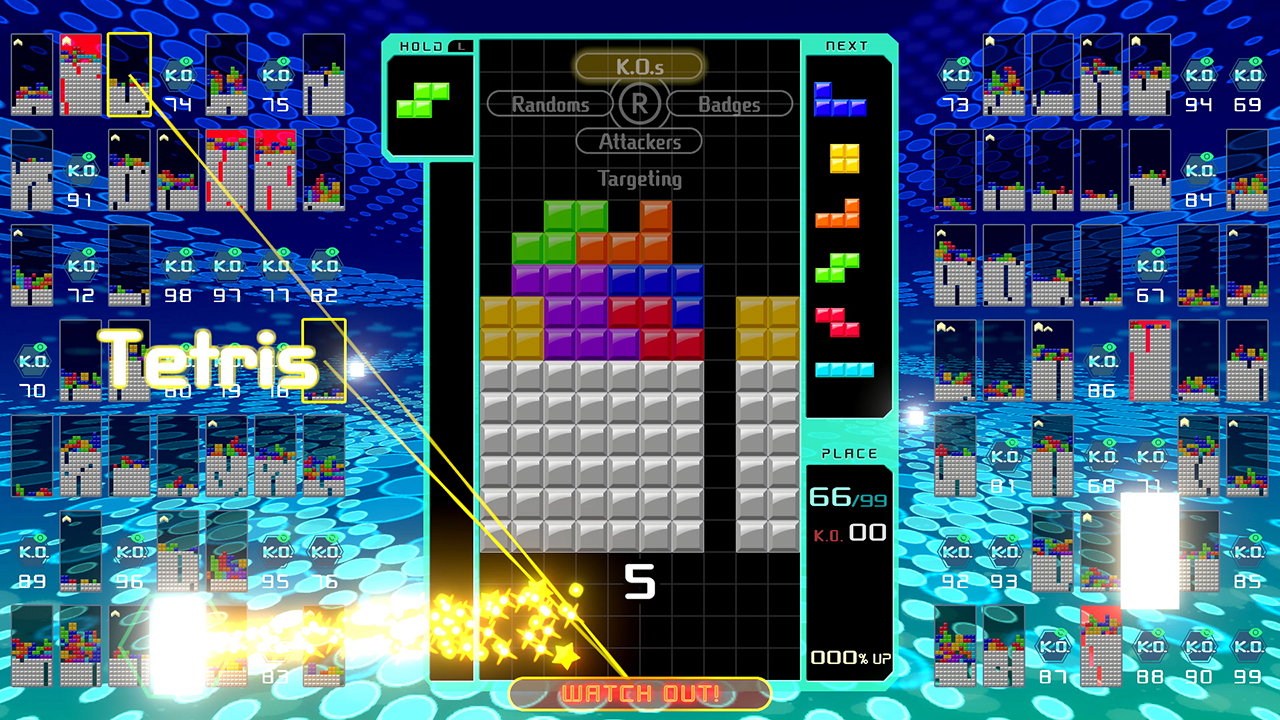Tetris 99: The true Battle Royale