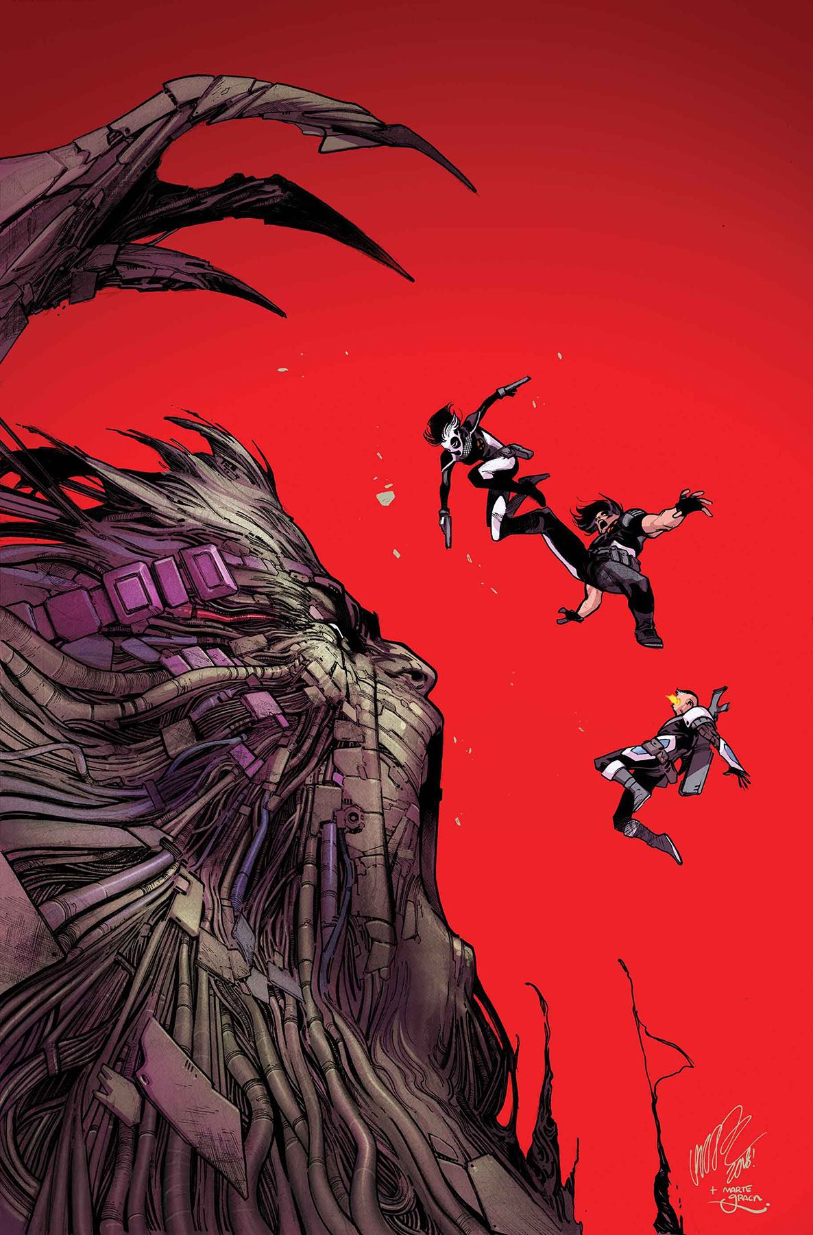 Ahab has returned to exterminate X-Force!