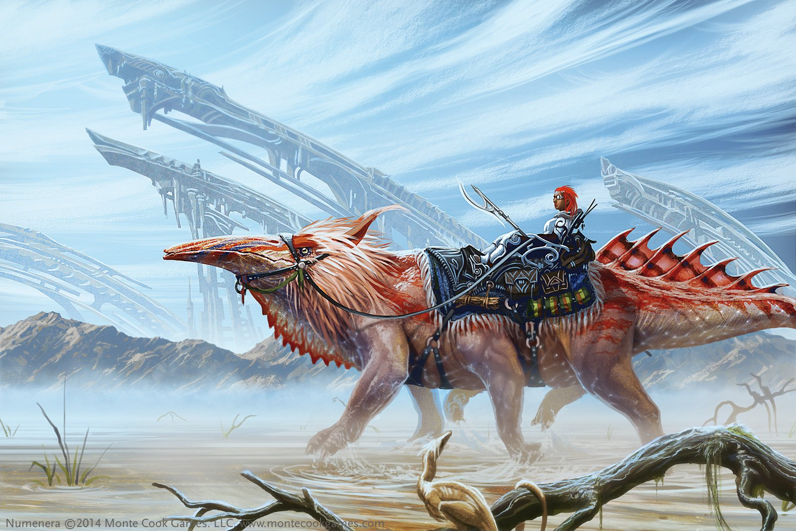 Monte Cook Games is bringing Numenera to Dungeons and Dragons
