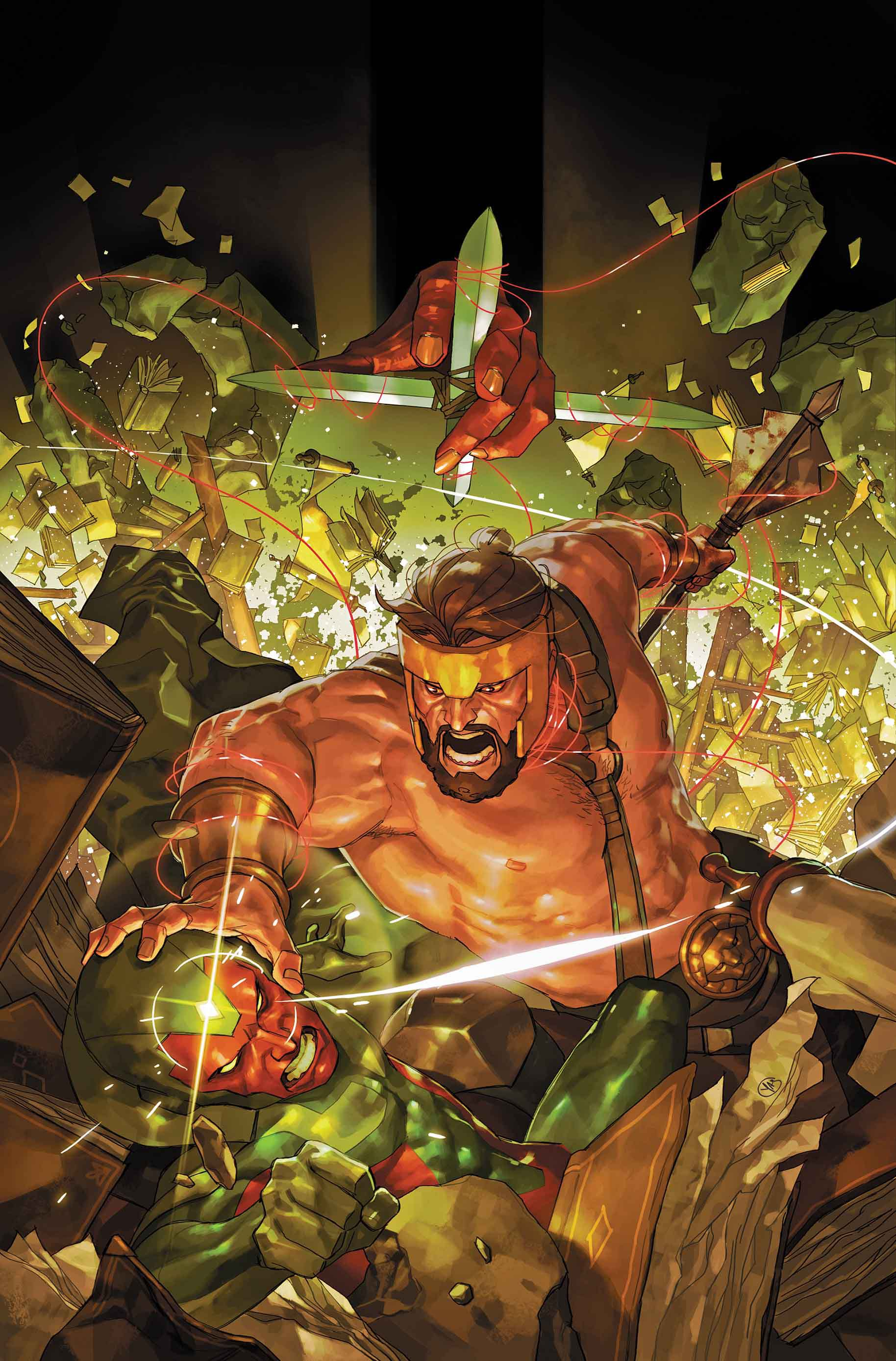 Marvel Preview: Avengers: No Road Home #4