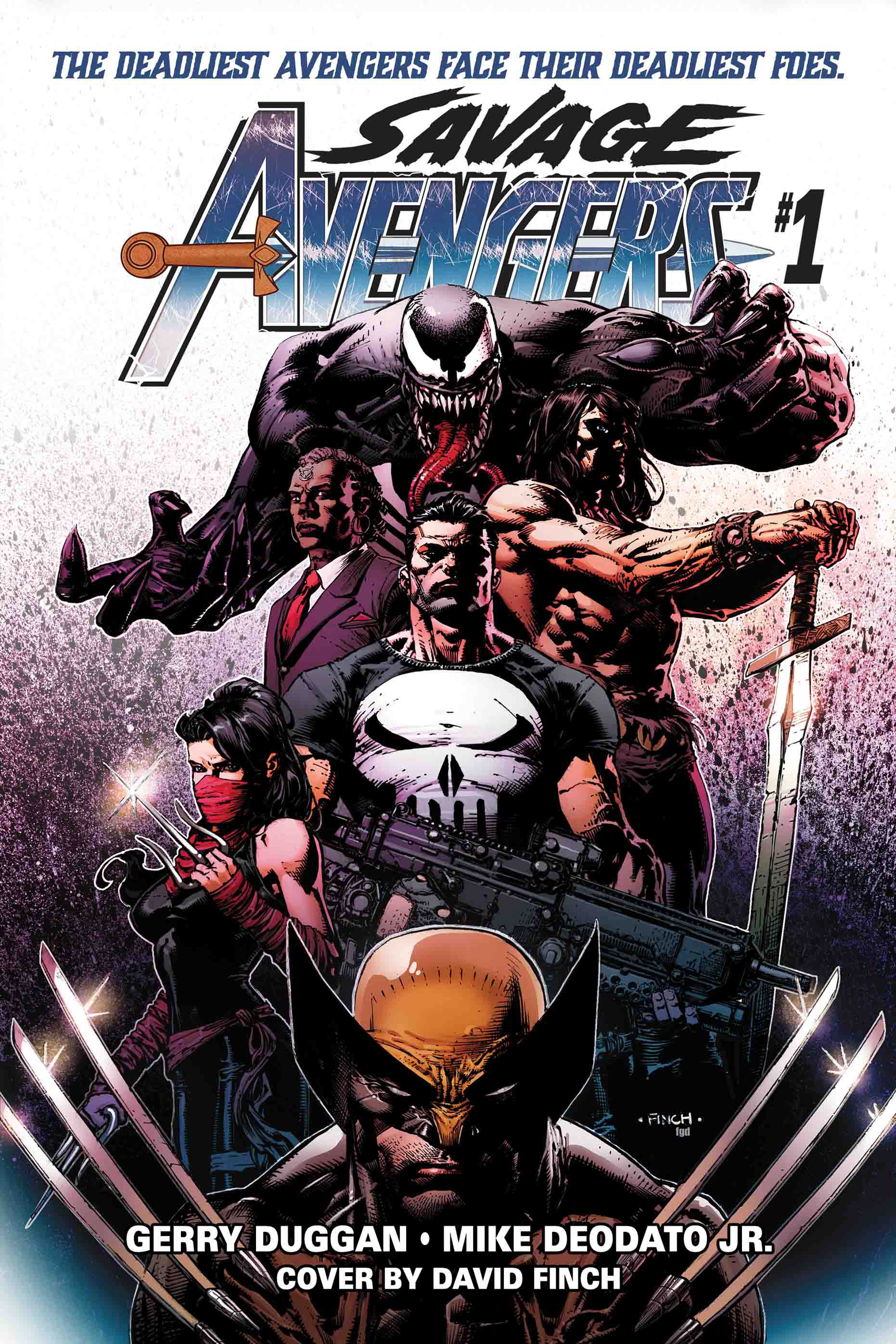 First Look: The Savage Avengers #1 featuring Conan, Wolverine, Venom, and more!