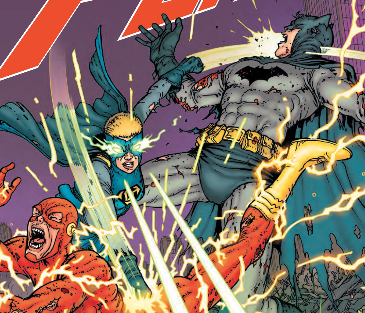 Great art and two big superhero fights makes this quite entertaining.