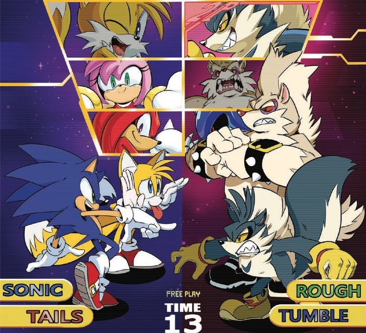 EXCLUSIVE IDW Preview: Sonic the Hedgehog #13