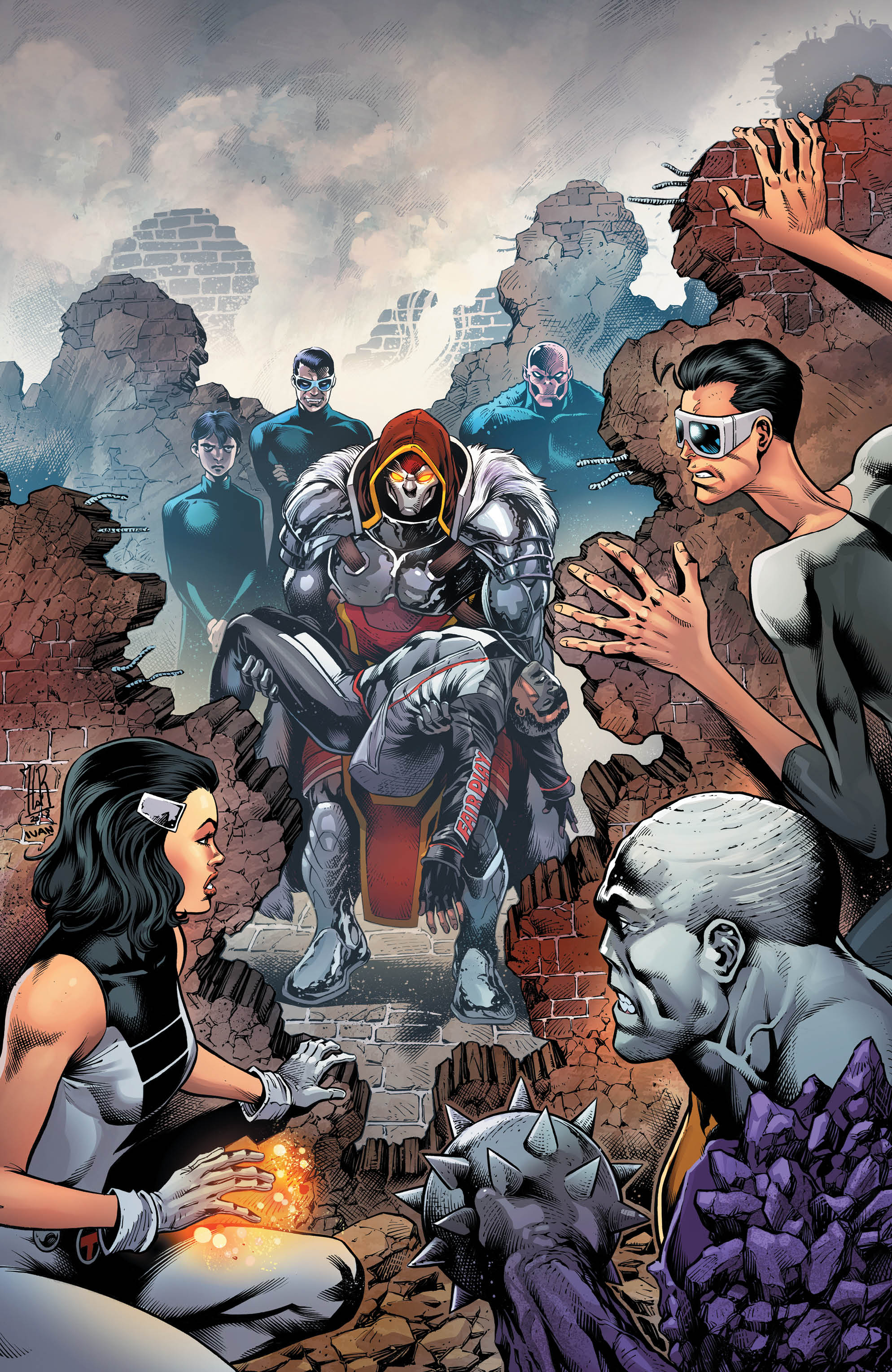 Jeff Lemire's penultimate issue of The Terrifics sets up the finale incredibly well.