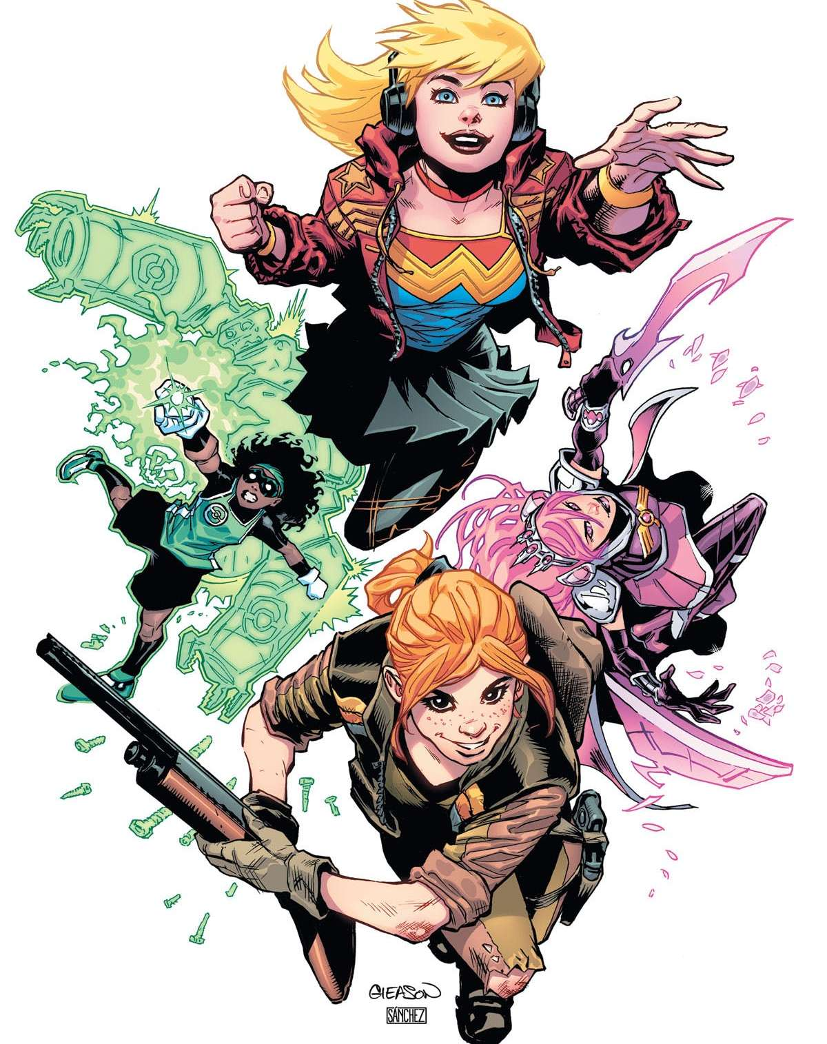 Young Justice #2 review: Path of Wonder