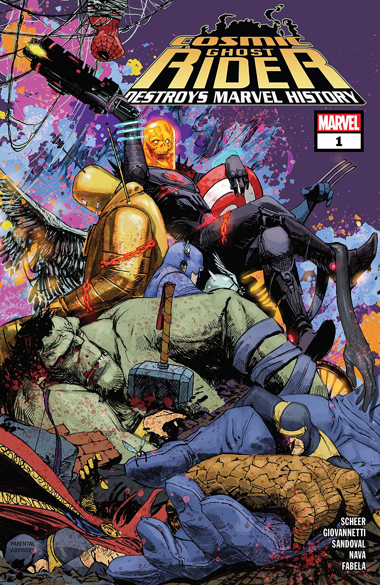 Marvel Preview: COSMIC GHOST RIDER DESTROYS MARVEL HISTORY #1